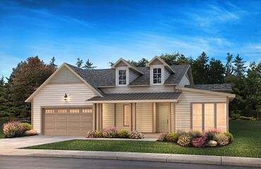 Balsam Exterior C: New Farmhouse