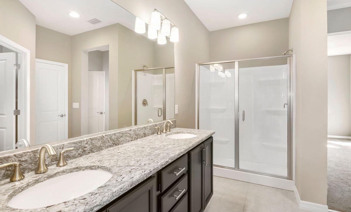 Trilogy at Ocala Preserve Quick Move In Home Muros Plan Master Bath