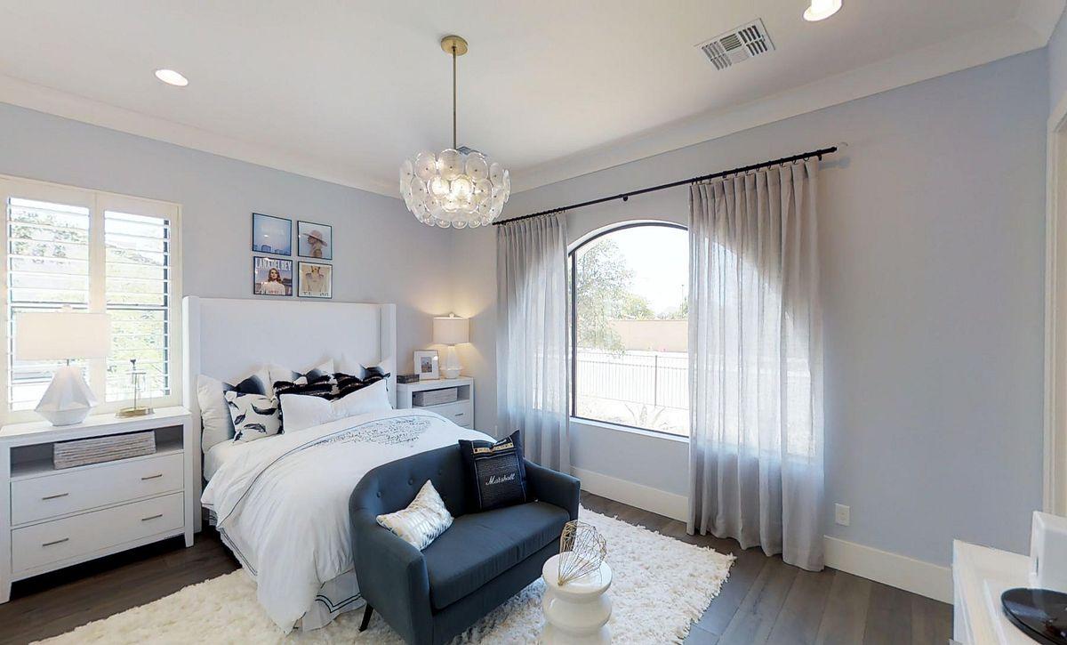 The Reserves Plan 3 Girl Bedroom