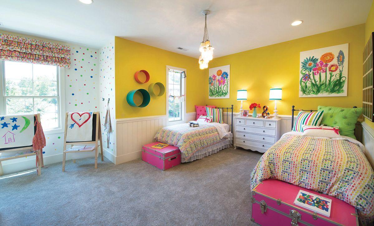 Redwood plan Bedroom 2 (example image)