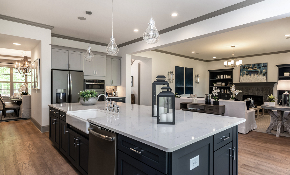 Amherst Kitchen & Family Room