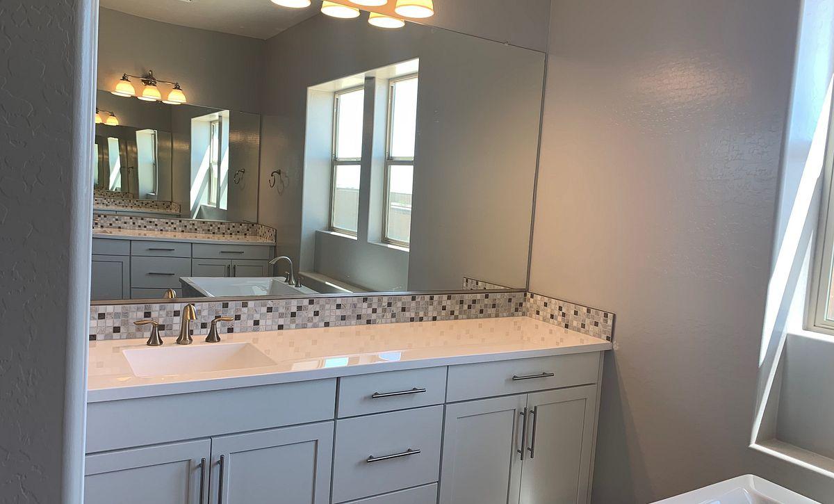 Origin, Homesite 258, Master Bath Vanity