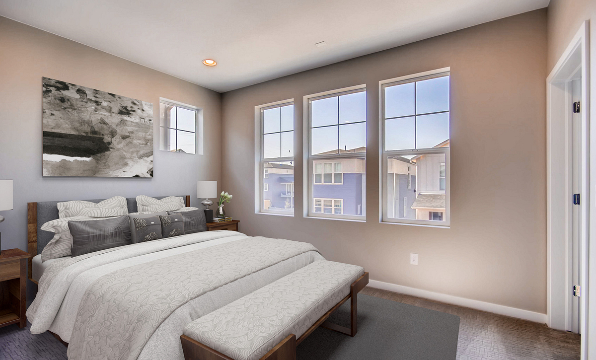 Central Park Plan 2204 Master Bedroom