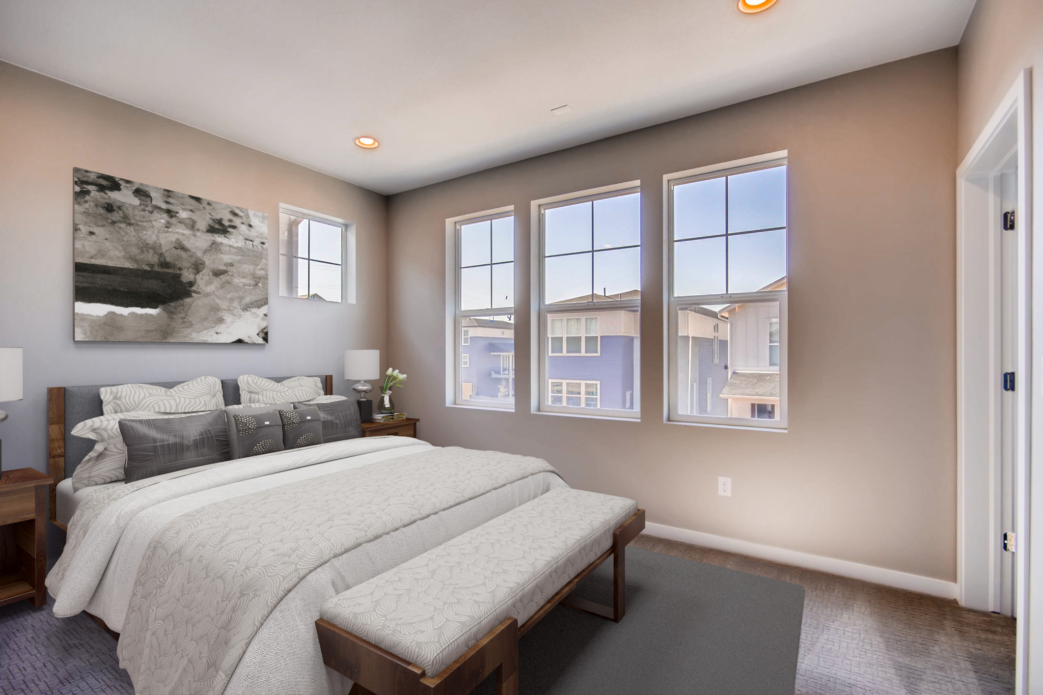 Crescendo at Central Park Plan 2204 Master Bedroom
