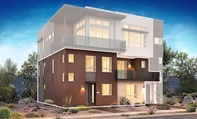 Trilogy in Summerlin Viewpoint Exterior Rendering A