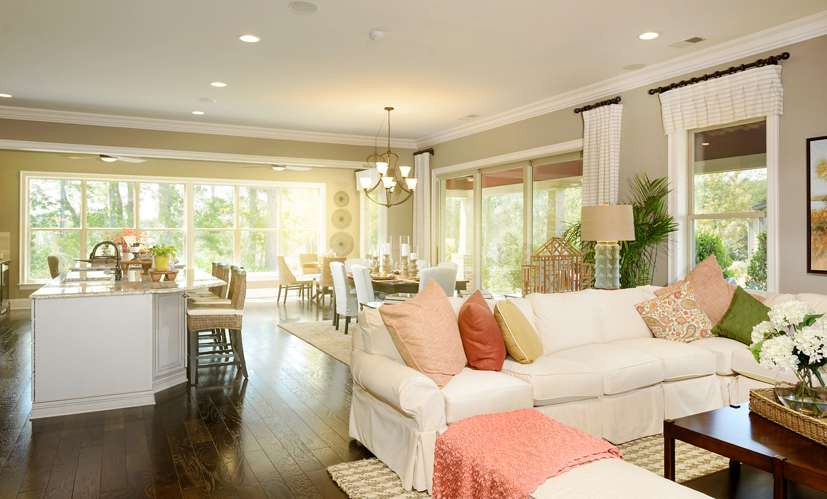 Trilogy Lake Norman Captivate Plan Great Room