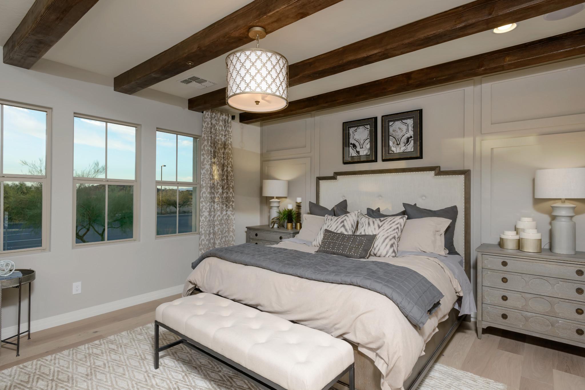 24 North 1002 Polaris Plan Master Bedroom