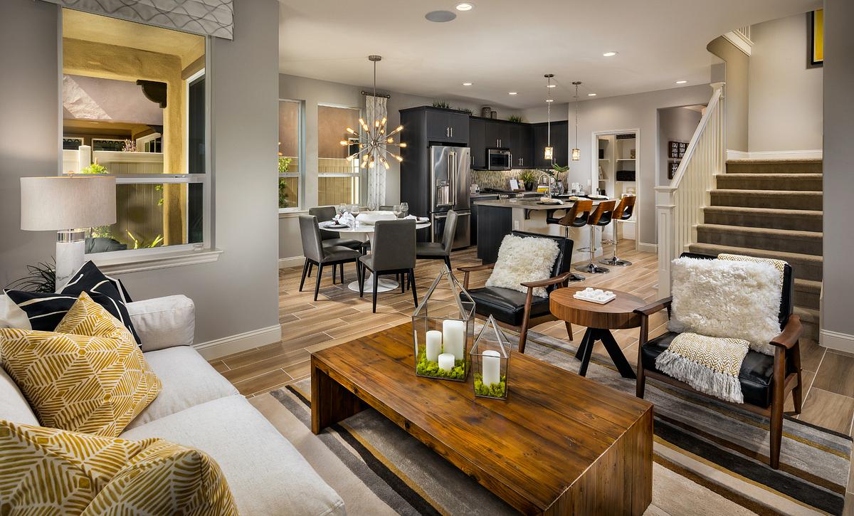 Shea Homes Rice Ranch Sage+ Great Room