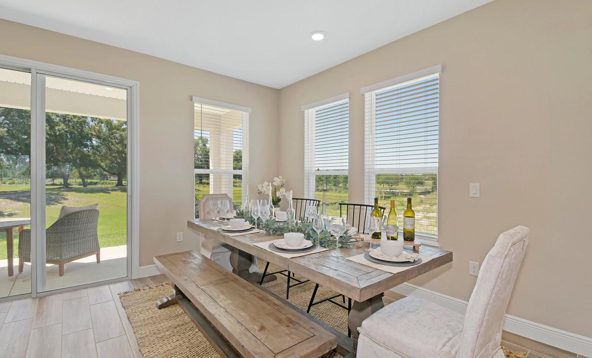 Ocala Preserve Declare Field Model Homesite 268 Dining