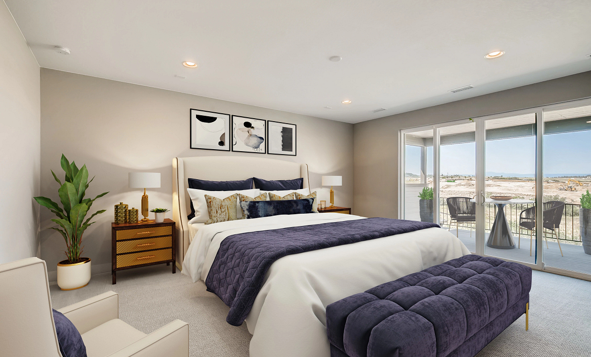 Canyons Luxe Weston Primary Bedroom