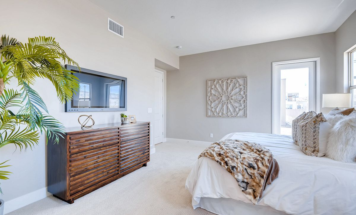 Trilogy Summerlin Luminous Master Bedroom