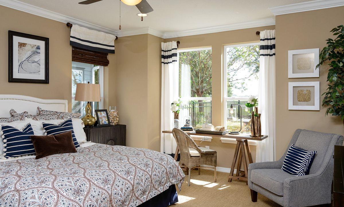 Trilogy at Ocala Preserve Refresh Model Master Bed