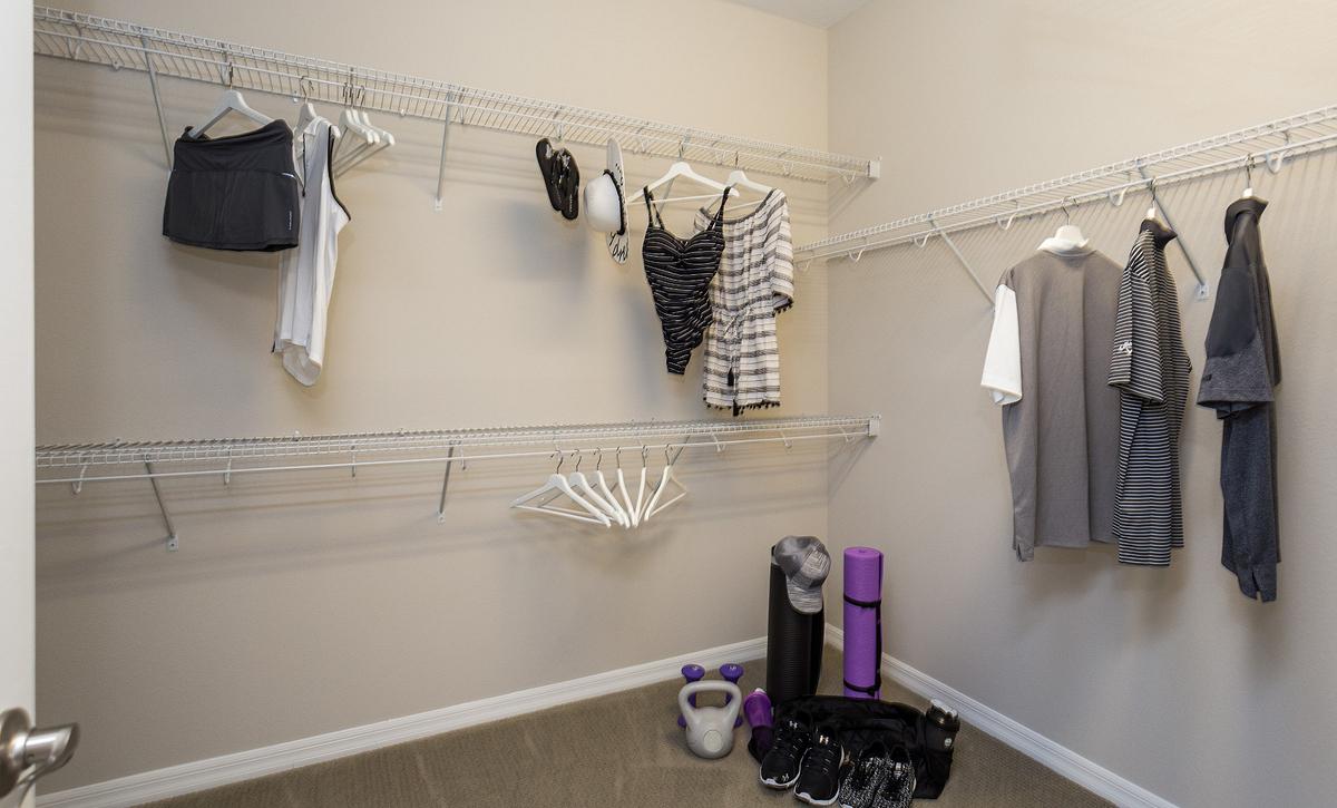 Trilogy Orlando Connect Plan Walk In Closet