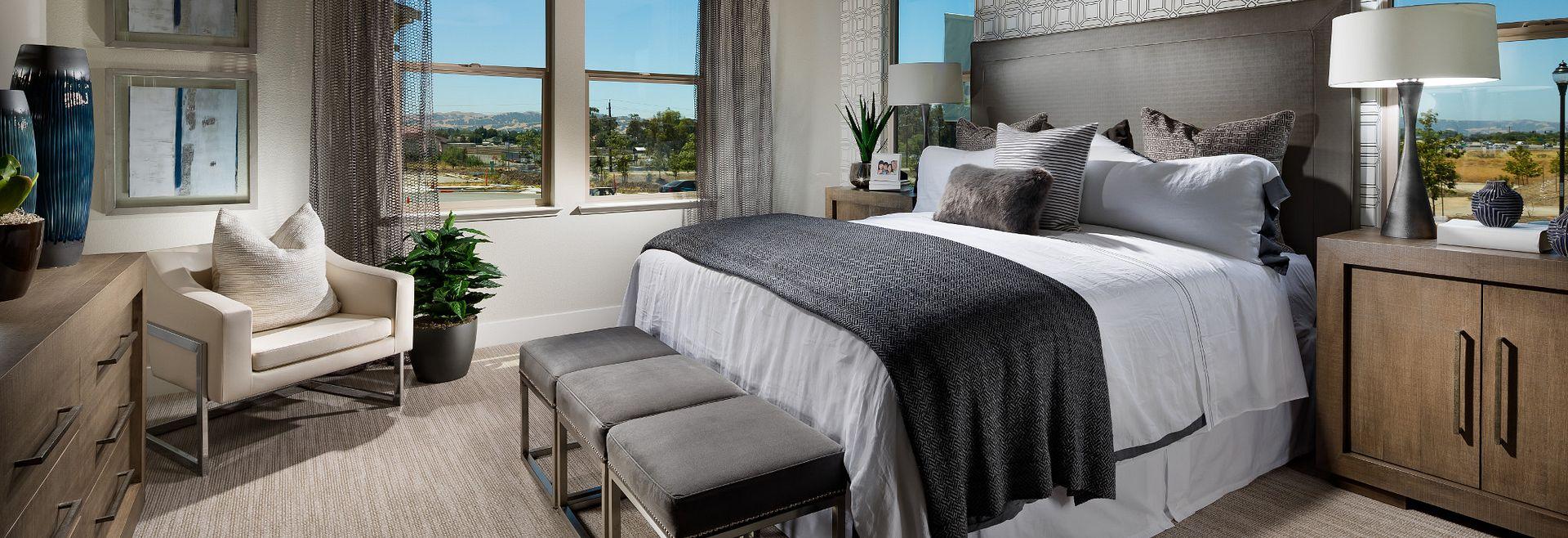 Harmony Sage Livermore Plan 3 Master Bedroom