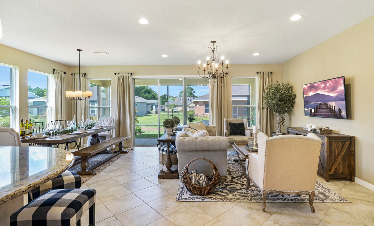 Trilogy at Ocala Preserve Declare Great Room