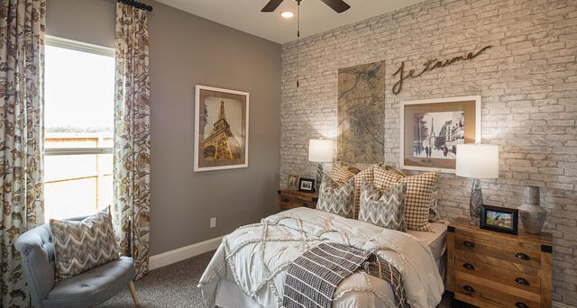 Guest Room included in plan 5118 of the new homes in Sienna
