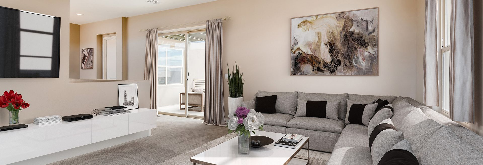 Trilogy Summerlin Radiant Virtually Staged Guest Suite