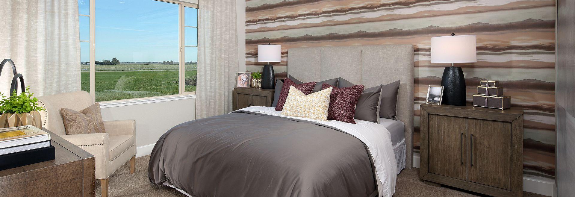 Plan 5 Master Bedroom