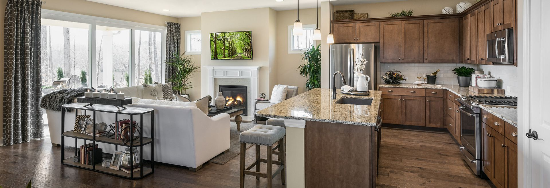 Trilogy Lake Norman Glory Model Home