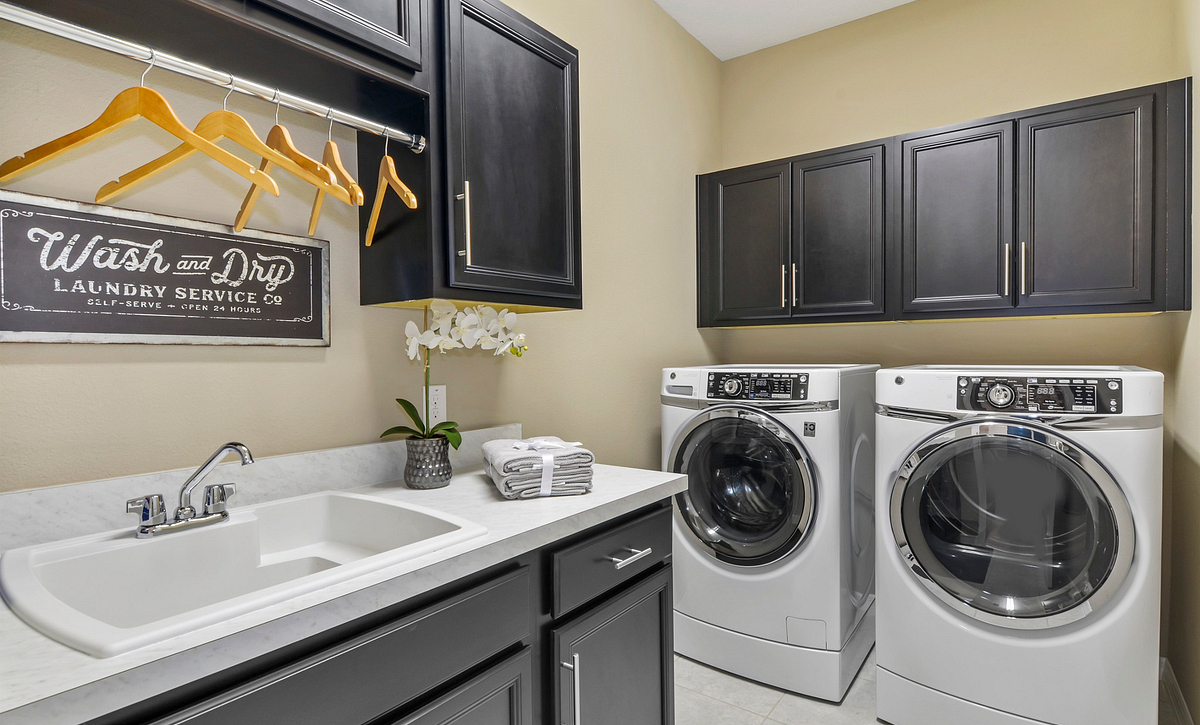 Trilogy at Ocala Preserve Excite Model Home Laundry