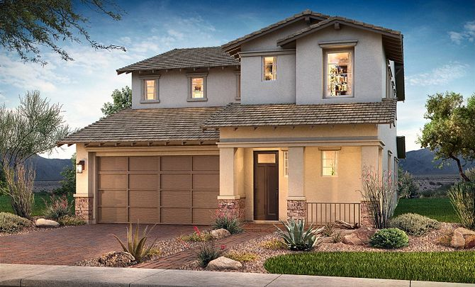 Passion Exterior D: Contemporary Craftsman