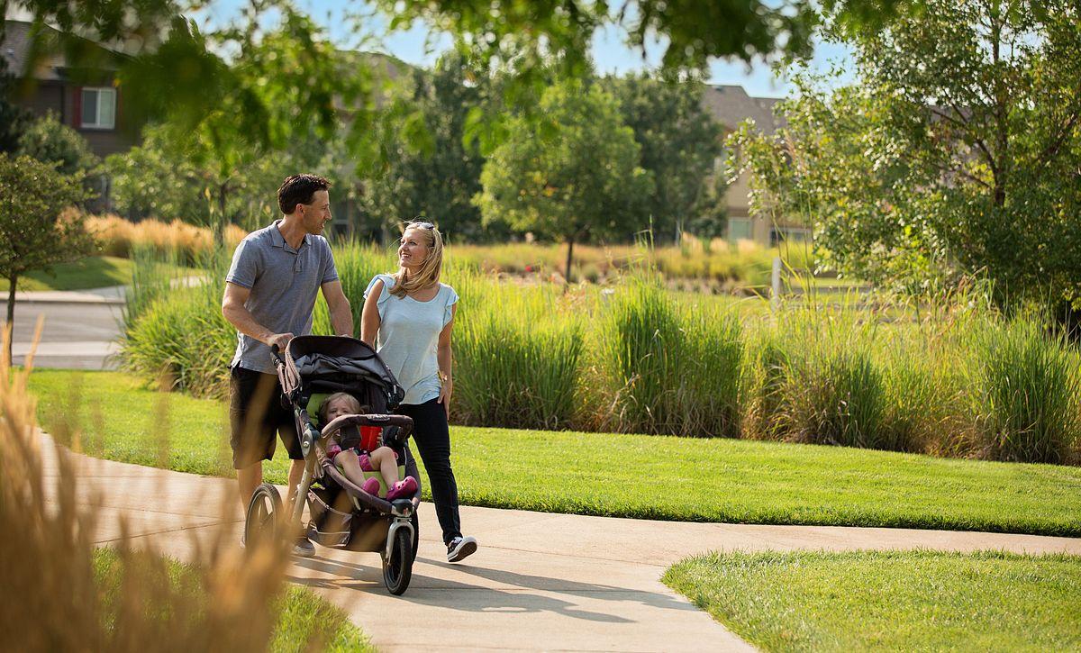 Reunion Community Family Stroller Walking Trails