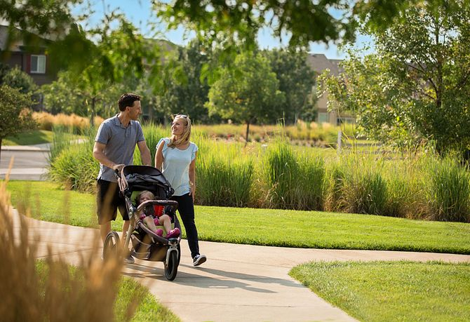 Reunion Community Family Stroller Walking Trails