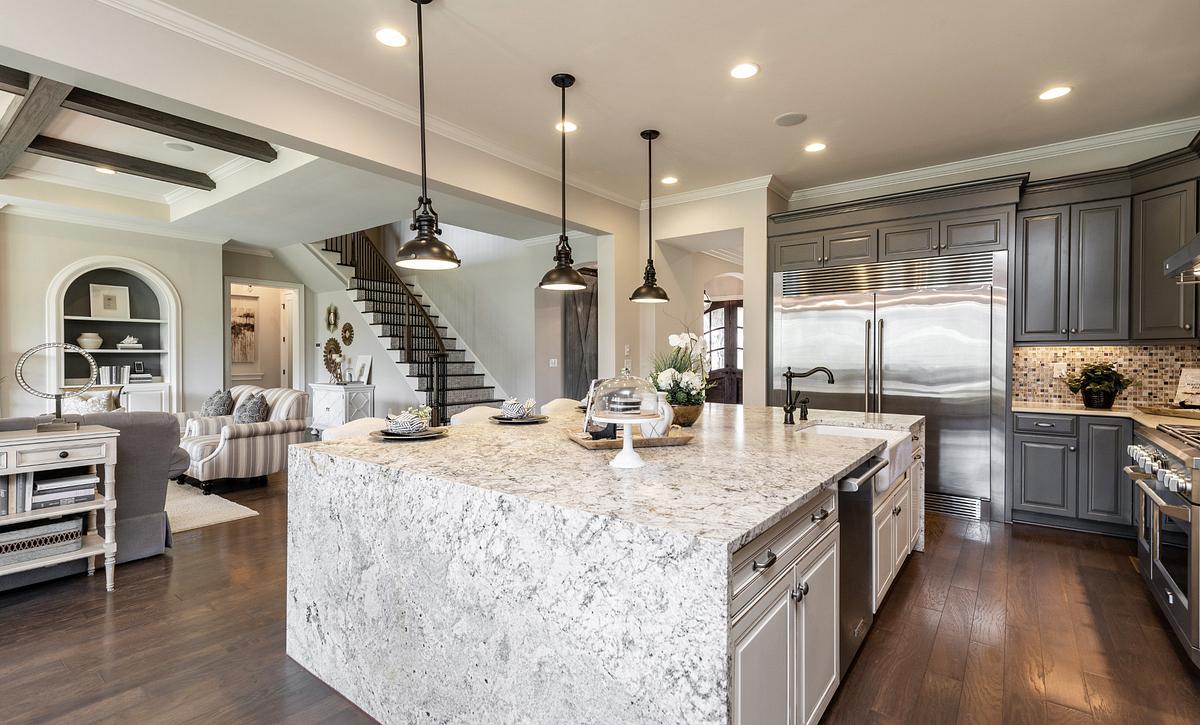 Grayson plan Kitchen