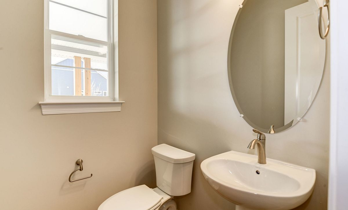 Trilogy at Lake Frederick Hensely Plan Quick Move In Powder Room