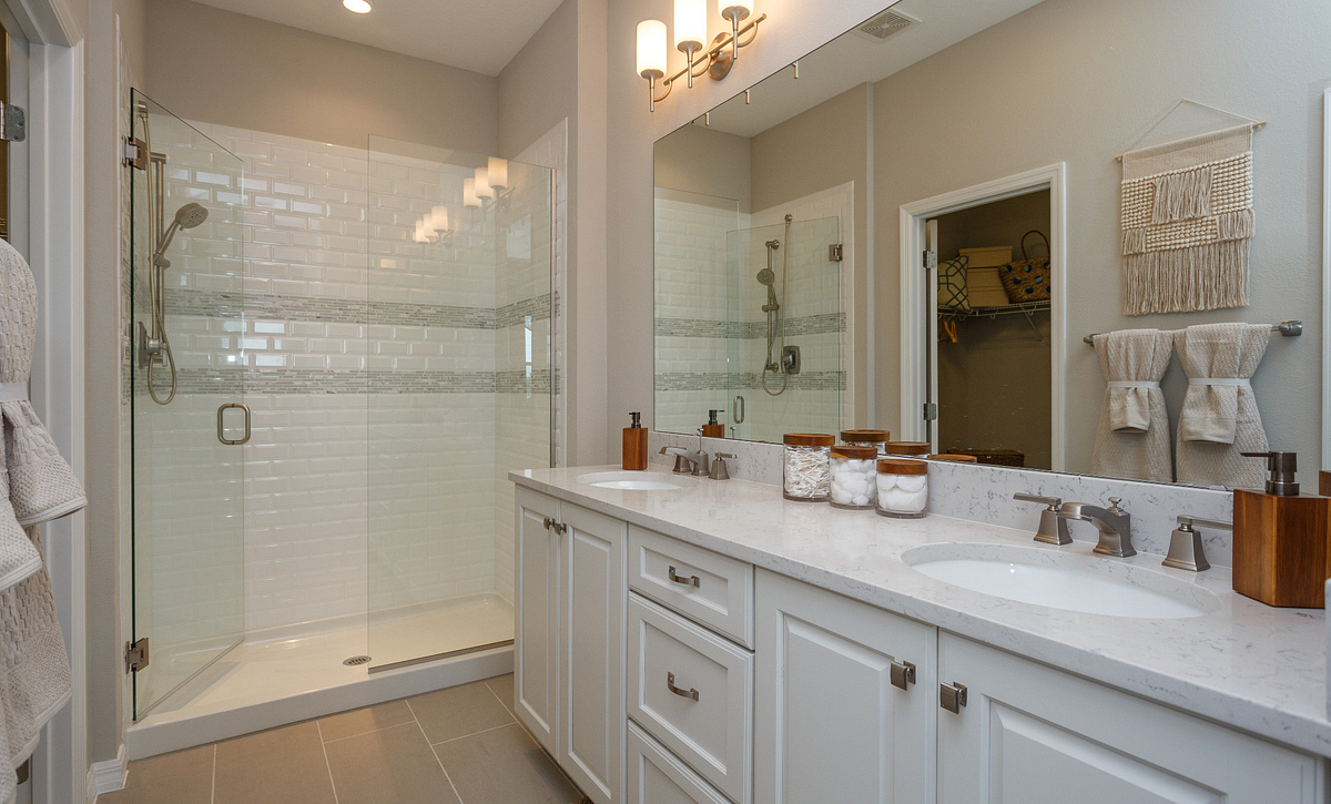 Trilogy Orlando Liberty Model Home Master Bath