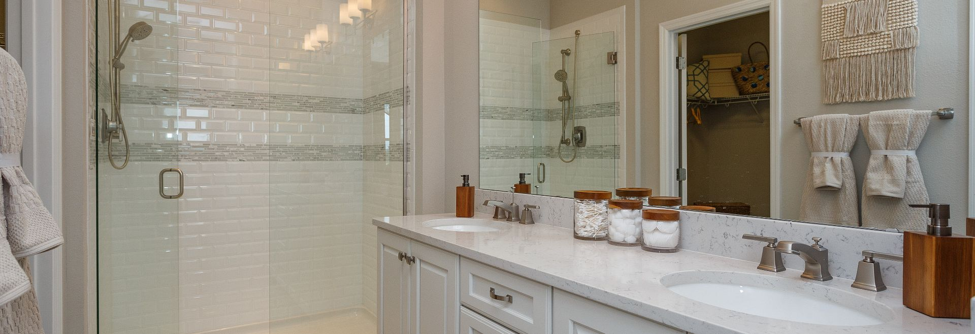 Trilogy Orlando Liberty Model Home Master Bath