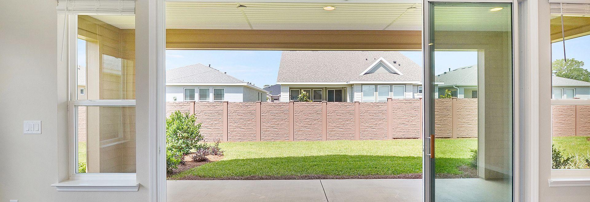 Trilogy at Ocala Preserve Quick Move In Home Refresh Plan Muli-Slide Door