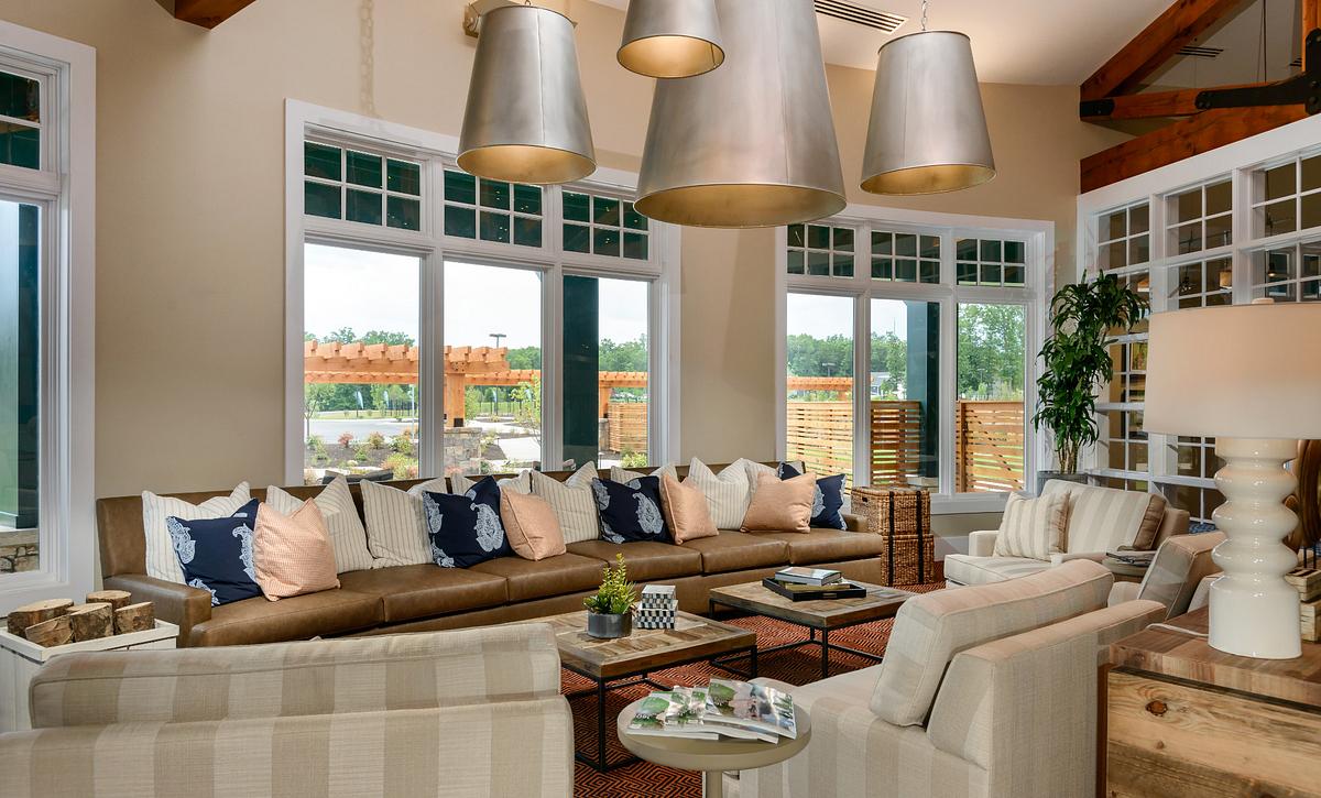 Trilogy at Lake Frederick Club Grand Living Room
