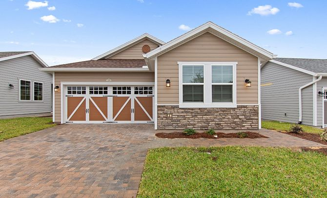 Trilogy Orlando Quick Move In Capri Plan Home Front Exterior