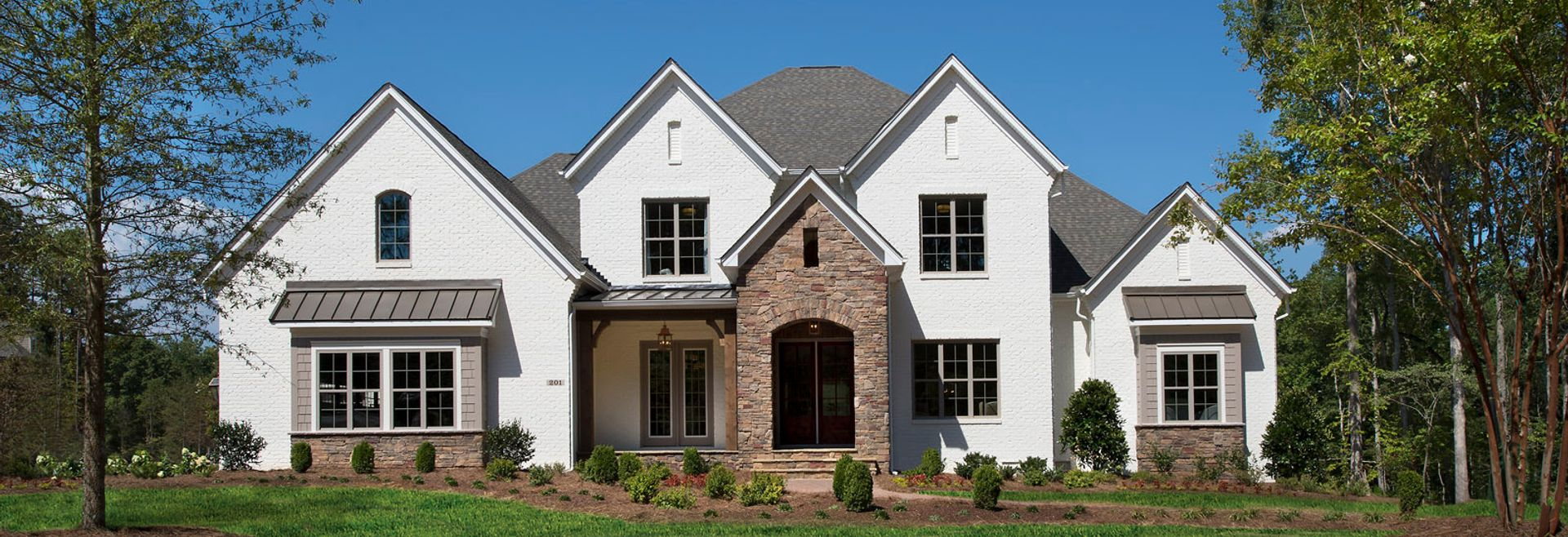 Grayson Exterior C with Painted Brick Option