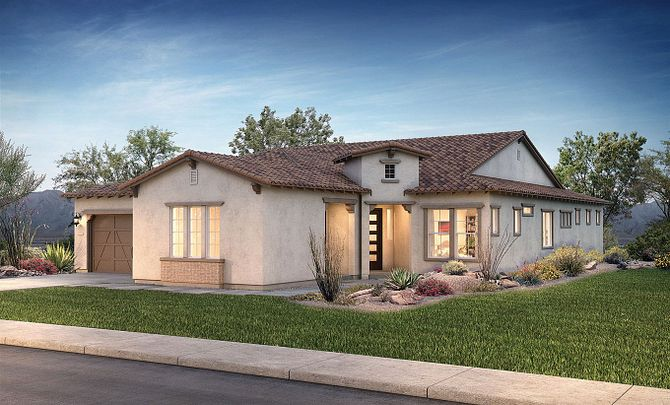 Evolve at Cantilena Flourish Plan 5581 Adobe Ranch Exterior