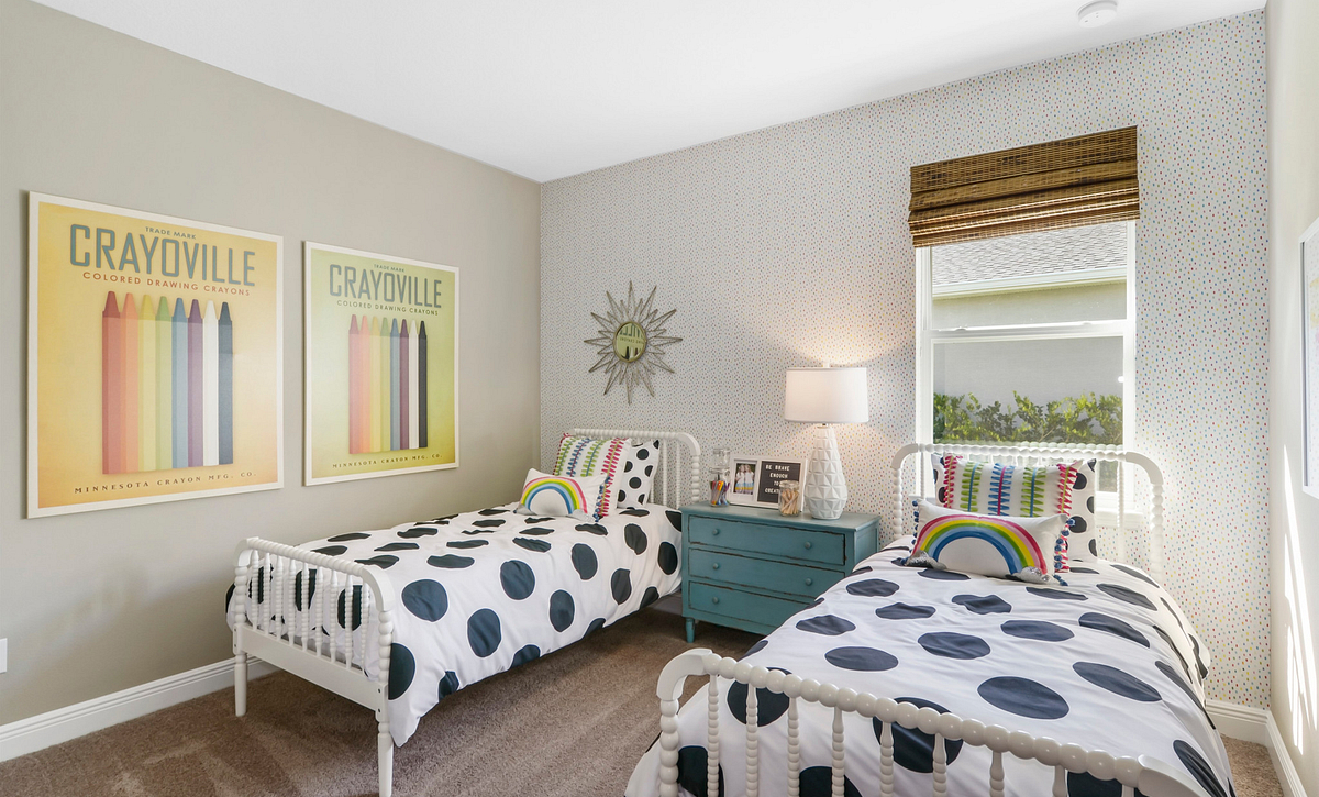 Trilogy at Ocala Preserve Liberty Model Home Guest Bed