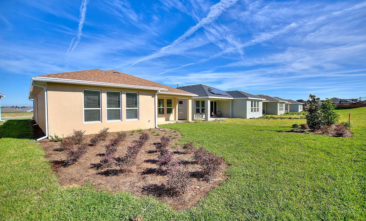 Trilogy Orlando Quick Move In Home Connect Plan Backyard