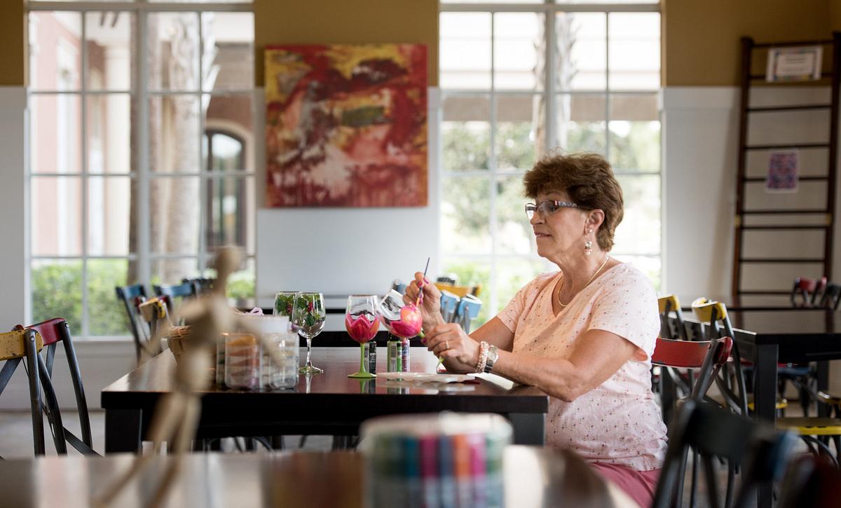 Lady in the Art Studio
