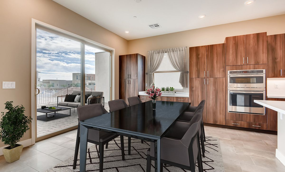 Trilogy Summerlin Radiant Virtually Staged Dining Room