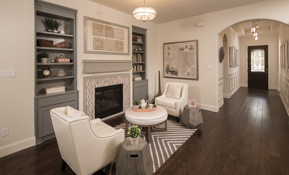 Plan 4117 Living Room