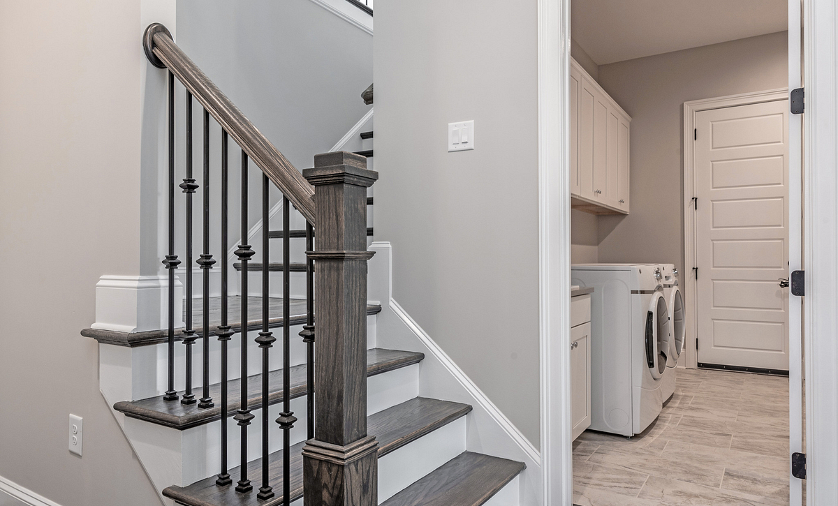 Preston plan Rear Stairs & Laundry Room