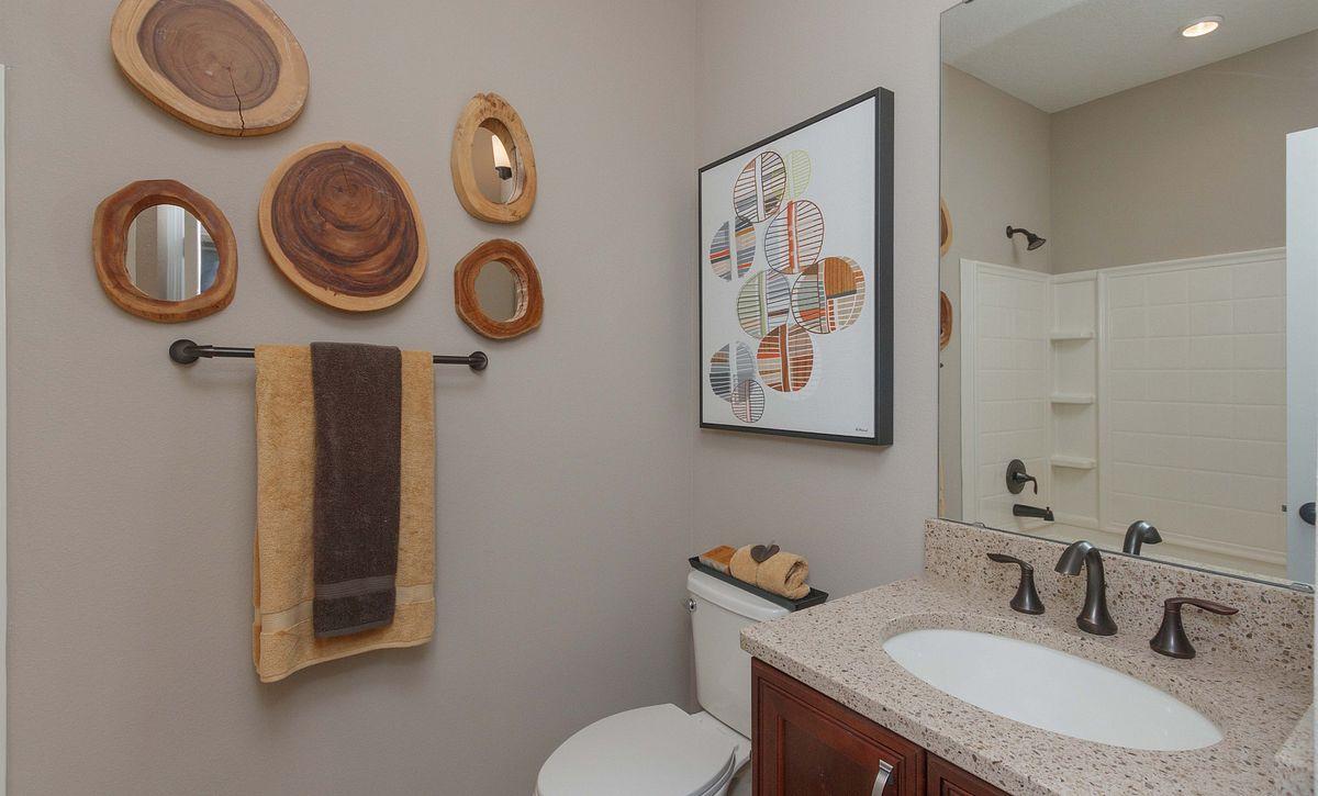 Trilogy Orlando Capri Plan Guest Bath