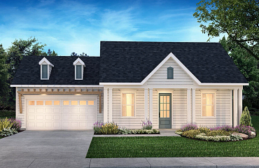 Trilogy Lake Norman Exterior Elevation Coastal