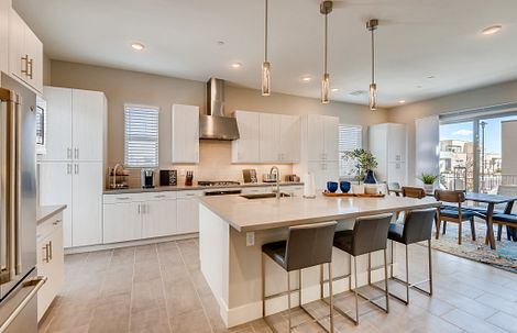 Trilogy in Summerlin Radiant Kitchen