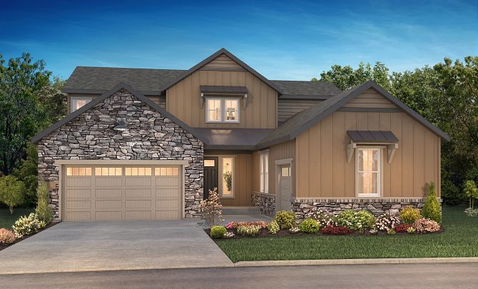 The Canyons Luxe Stonehaven Elevation B