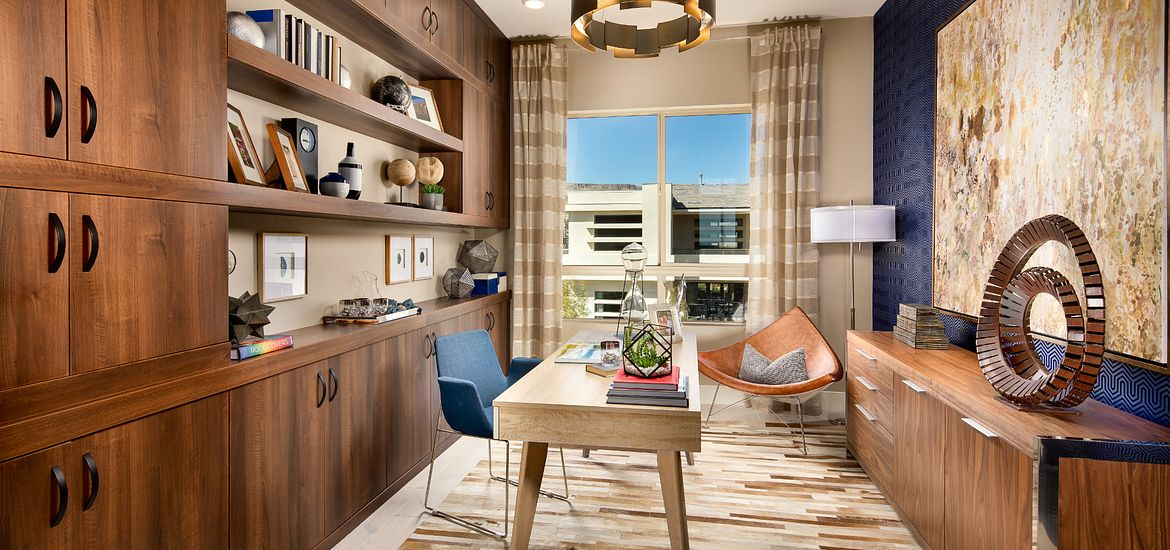 Office in the Apex Plan at Trilogy in Summerlin in Las Vegas, NV