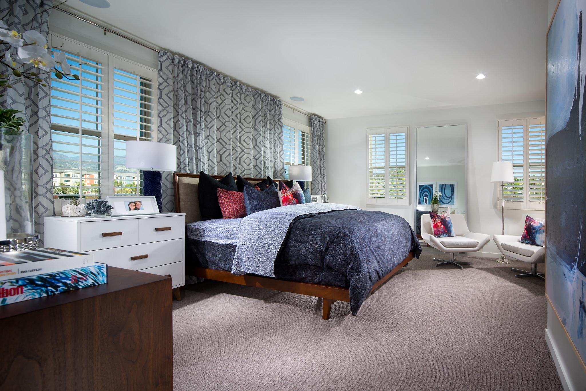 Plan 3 Master Bedroom