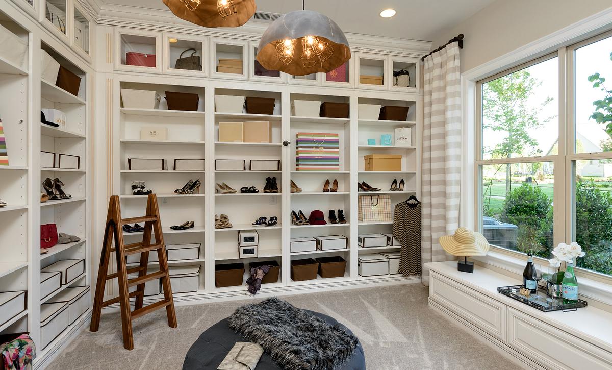 Balsam Model Home Master Closet