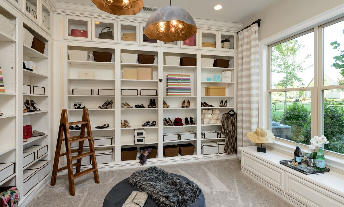 Balsam Model Home Master Closet